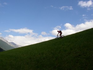 Lonely downhill